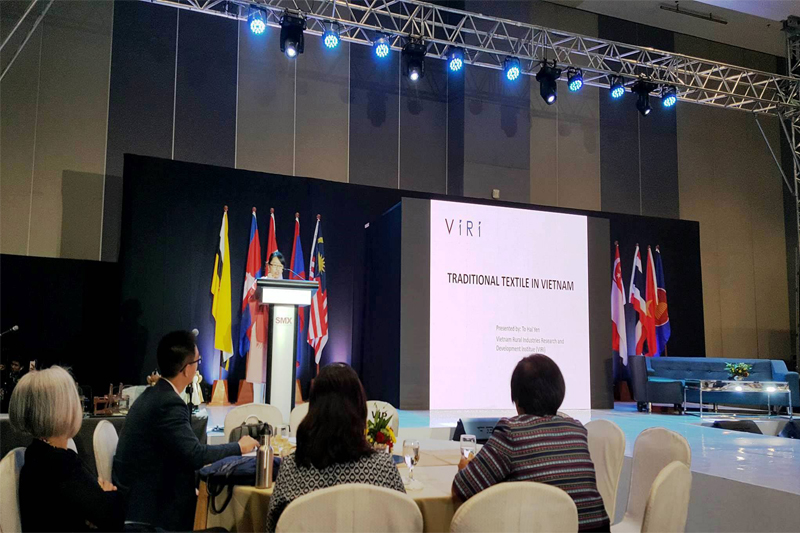 VIRI participated in the Tela Asean conference