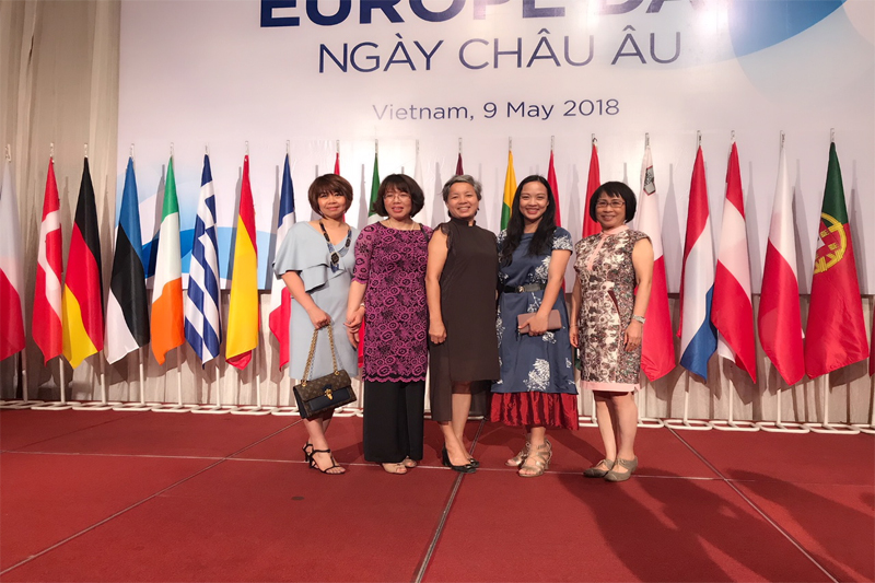 Europe day in Hanoi on May 09