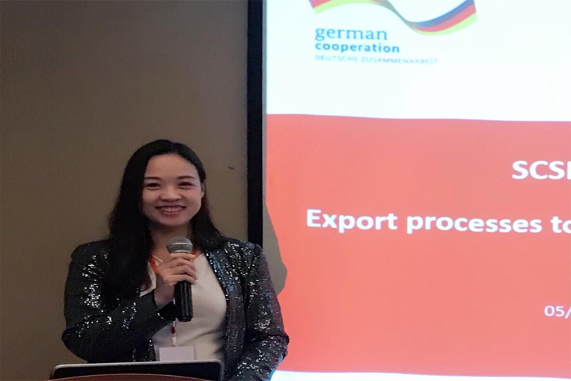 Dr. Nguyen Bao Thoa participated in the regional workshop to promote trade between Asean - China