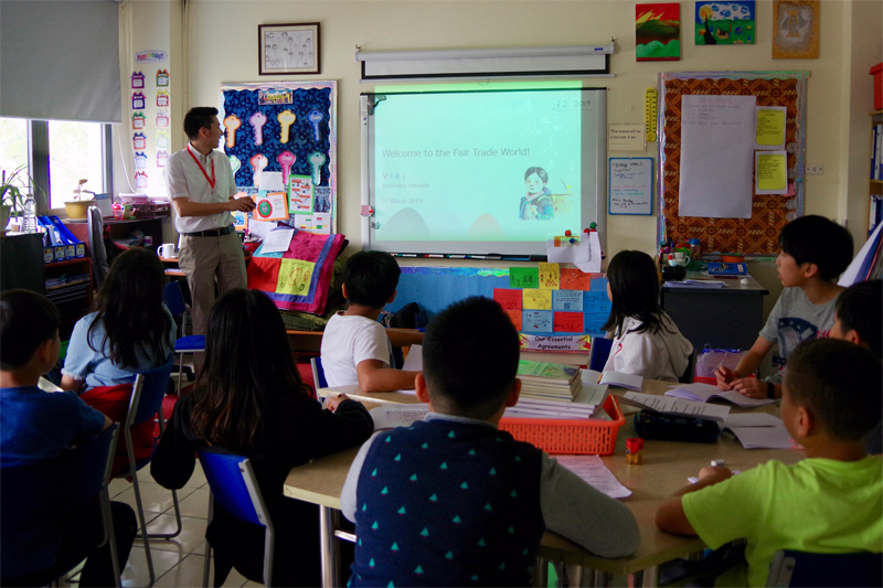 VIRI introduced Fair Trade to students at Hanoi International School