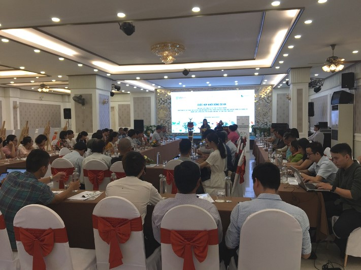 Sub-project kick-off meeting in Thua Thien Hue province